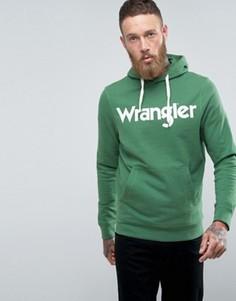 Худи с логотипом Wrangler - Зеленый