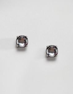 Серьги-гвоздики с кристаллом Swarovski от Simon Carter - Мульти