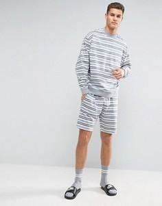 Пижама в полоску ASOS - Серый