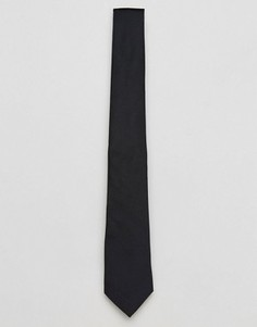 Черный галстук ASOS - Черный