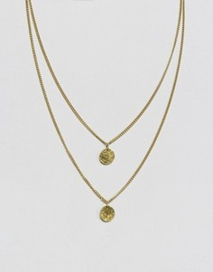 Двухслойное ожерелье Made - Золотой