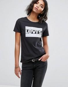 Футболка с логотипом Levis - Черный Levis®