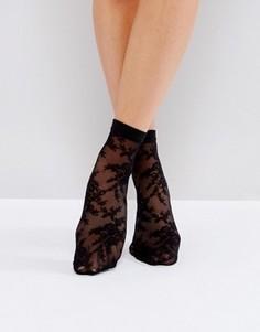 Кружевные носки ASOS - Черный