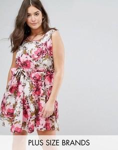 Платье с цветочным принтом Praslin - Мульти