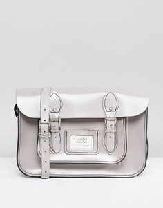 Портфель The Leather Satchel Company - Серый