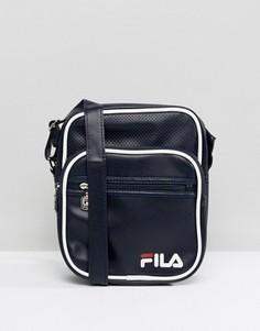 Темно-синяя сумка на плечо Fila Vintage Aldrich - Темно-синий