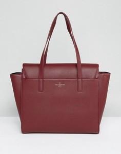 Темно-красная структурированная сумка-тоут Pauls Boutique - Красный