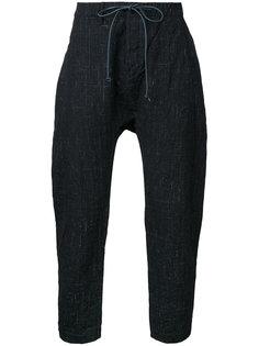 укороченные брюки на шнурке Kazuyuki Kumagai
