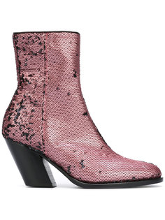 ботинки с пайетками A.F.Vandevorst