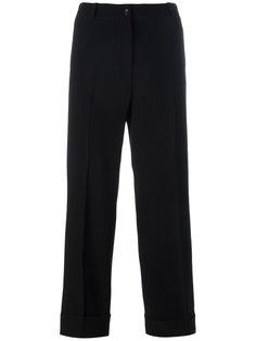 укороченные брюки прямого кроя Alberto Biani