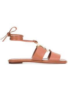 Gemini Link lace-up sandals Tory Burch
