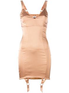облегающее платье с подтяжками Murmur