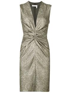 мини-платье с рюшами Lanvin