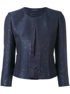 классический приталенный пиджак Tagliatore