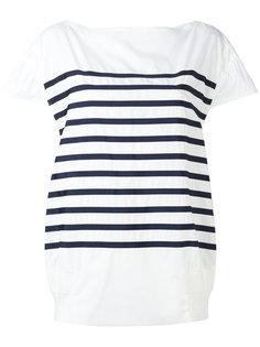 полосатая футболка Sacai