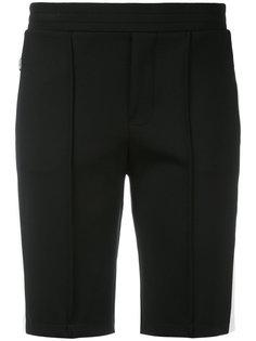шорты с контрастными полосками Moncler
