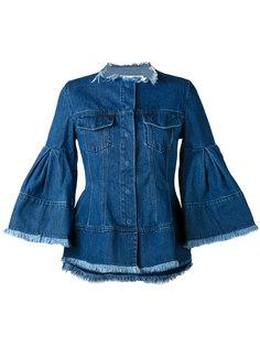 джинсовая куртка с рукавами клеш  Marquesalmeida