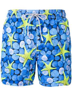 шорты для плавания с принтом морских звезд Mc2 Saint Barth