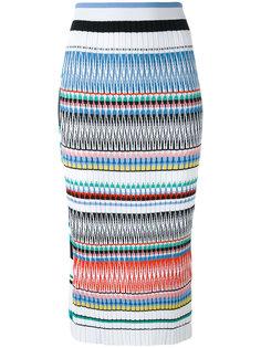 полосатая юбка-карандаш Ports 1961