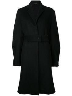 tuck-sleeve utility coat Bassike