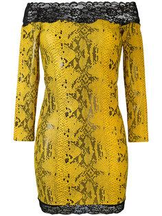 платье с принтом змеиной кожи  Faith Connexion