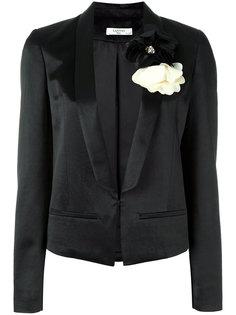 укороченный приталенный пиджак  Lanvin
