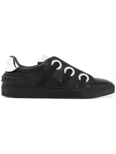 кроссовки со шнуровкой Casadei