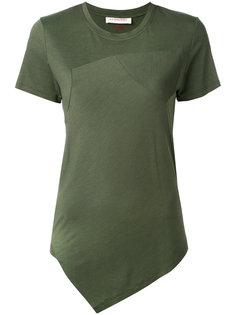 футболка с асимметричным подолом A.F.Vandevorst
