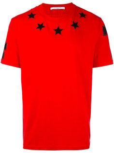 футболка со звездами Givenchy