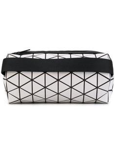 geometric print cylinder clutch Bao Bao Issey Miyake