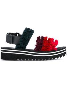 сандалии с отделкой рюшами Suecomma Bonnie