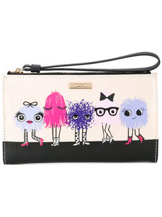 printed top zip wallet Kate Spade
