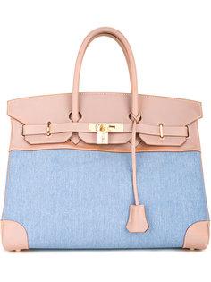 джинсовая сумка Birkin 35 Hermès Vintage