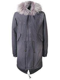 куртка с капюшоном и оторочкой из лисьего меха Mr & Mrs Italy