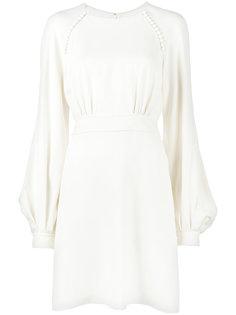 платье с рукавами-колоколами и пуговицами Chloé