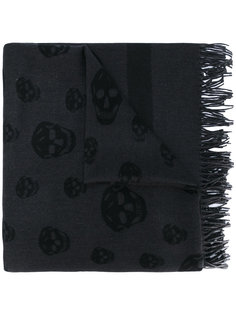 шарф с бахромой Alexander McQueen