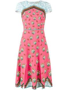 платье с цветочным принтом Osmond Mary Katrantzou