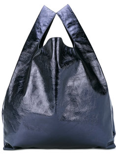 металлическая сумка-тоут Mm6 Maison Margiela