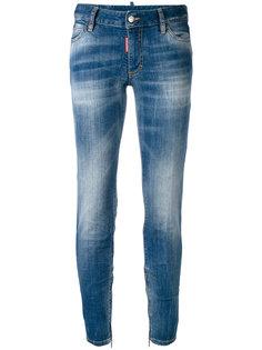 джинсы скинни средней посадки Twiggy Dsquared2