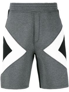 спортивные шорты с графическим узором Neil Barrett