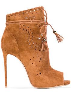 ботинки с кисточками Le Silla