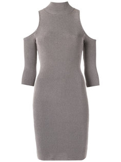 knit cold shoulder dress Cecilia Prado