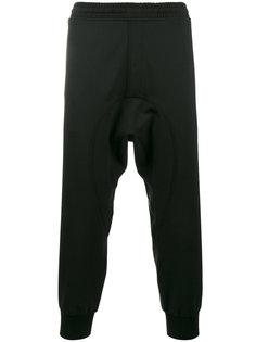 спортивные брюки с манжетами в рубчик Neil Barrett
