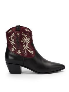 """ботинки в стиле вестерн """"Rock 40"""" Saint Laurent"""