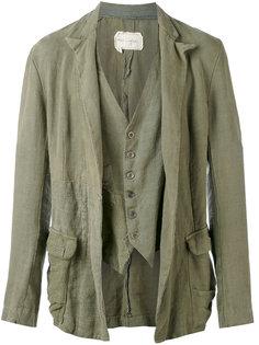 draped jacket Greg Lauren