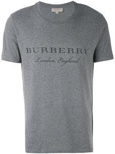 футболка с принтом логотипа Burberry