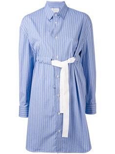 платье-рубашка в полоску Maison Margiela
