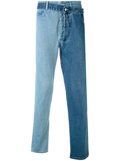 overlayed asymmetric jeans Christopher Shannon