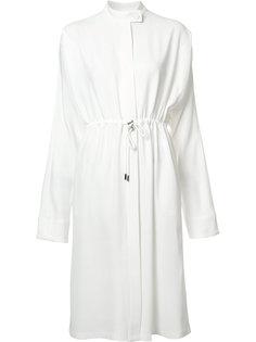 платье с эластичным поясом Jil Sander