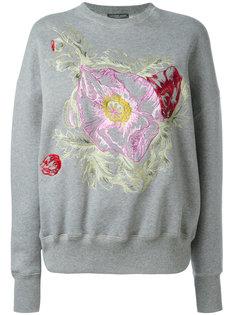 толстовка с цветочным рисунком Alexander McQueen